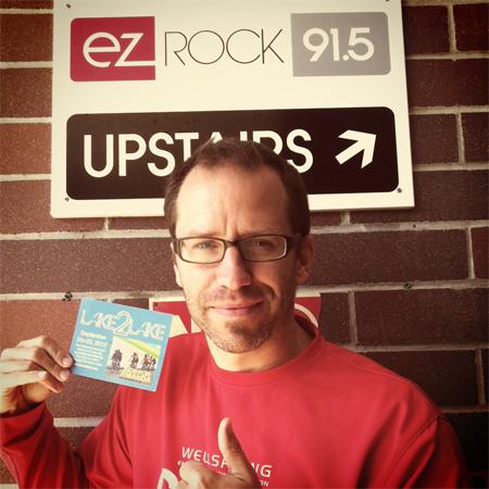 Jayson at EZ Rock in Salmon Arm