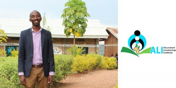 Adrian Bizimana—a student in our second ALI class who leads Gikonko School in Huye, a southern region in Rwanda.