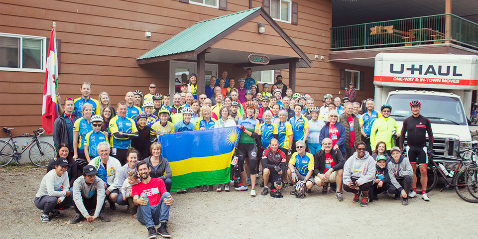 2017 Lake2Lake Ride for Rwanda