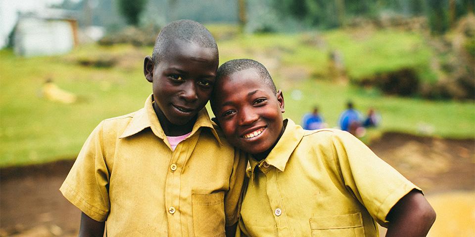 Students in Rubavu District