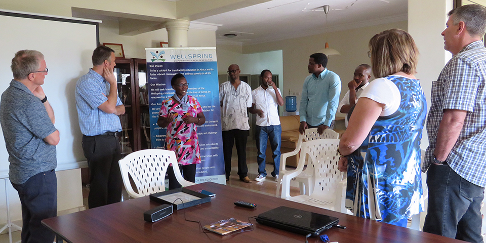 Meeting with Wellspring Leaders